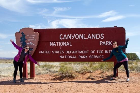 canyonlands sign