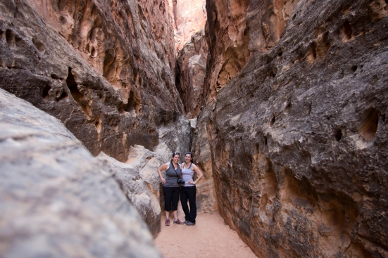 us in a canyon