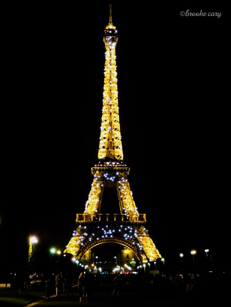 Eiffel Tower Light Show