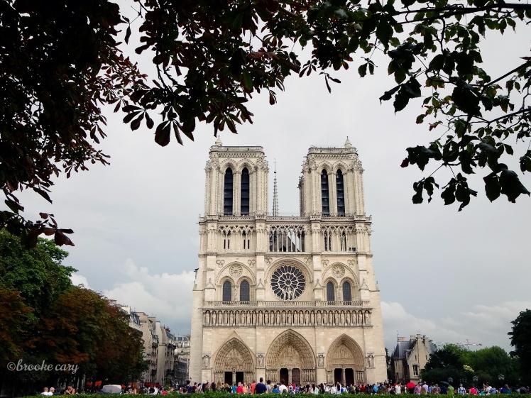 Framed Notre Dame