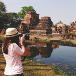 Photo Taking in Sukhothai