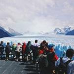 Crowded Perito Moreno