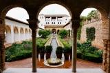 In Awe of the Alhambra in Granada,Spain